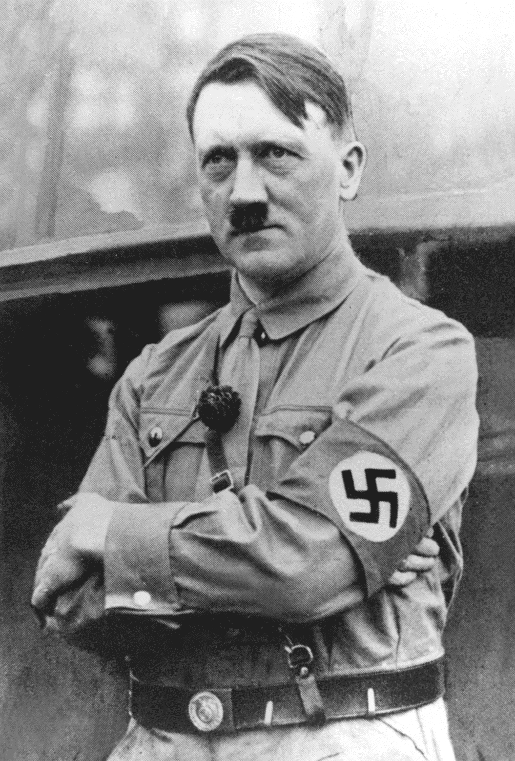 How did hitler keep control of Nazi Germany