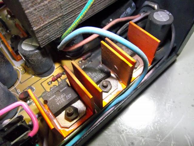 Transistores da fonte