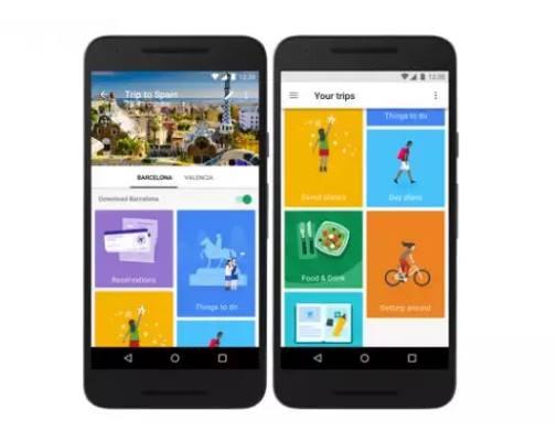 Aplikasi Traveling Google Trips