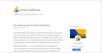 AdSense Blog