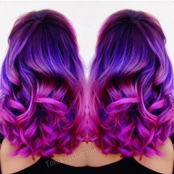 In Love with Magenta Hair Colors!