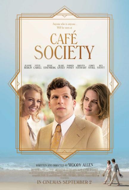 Café Society, Cartaz divulgado, Woody Allen