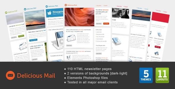 Delicious Apple Mail Template Download