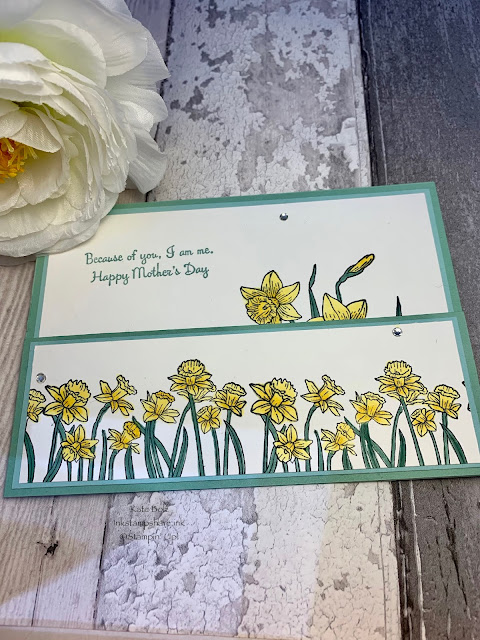 Mothers Day Card with you'Re Inspiring stamp set. You're Inspiring.Stampin Up