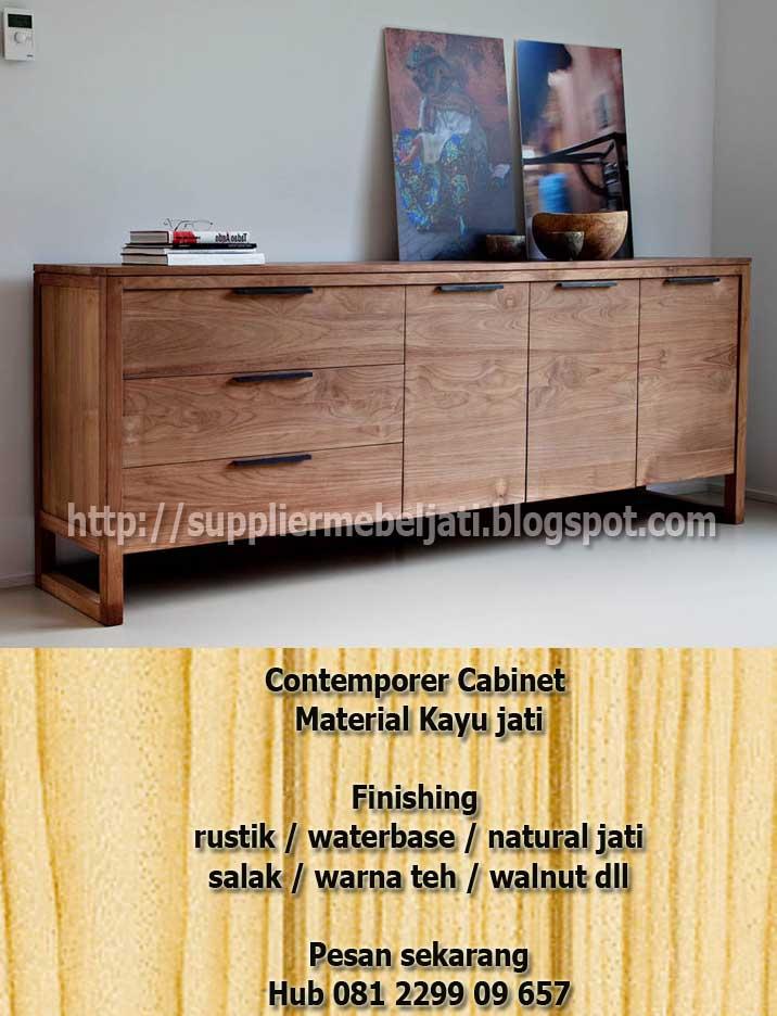 Jual Mebel Jati Perabot Indoor Teak Minimalis Furniture