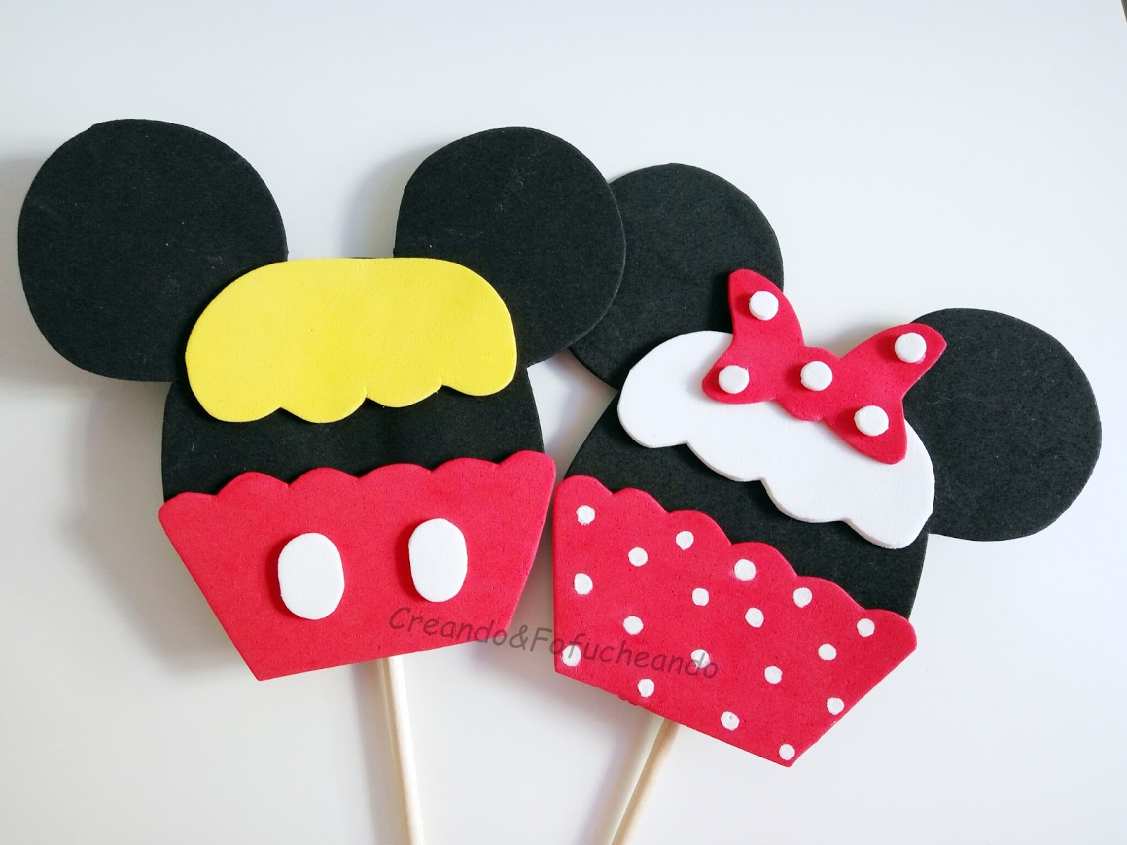 Baby Mickey Mouse Cake Pops