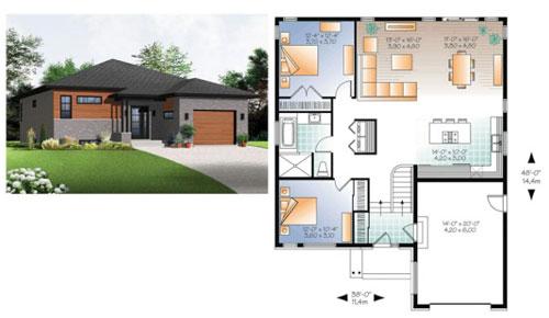 sketsa denah rumah sederhana 3 kamar