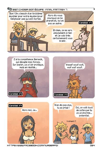 Final Fantasy 7 comics