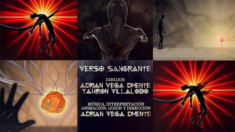 D'Mente - ¨Verso Sangrante¨ - Videoclip / Dibujo Animado - Dirección: Adrián Vega. Portal Del Vídeo Clip Cubano