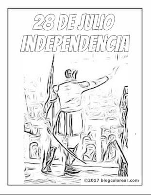 PERU Proclamación de la Independencia