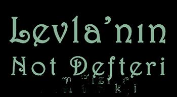 LEVLA'NIN NOT DEFTERİ