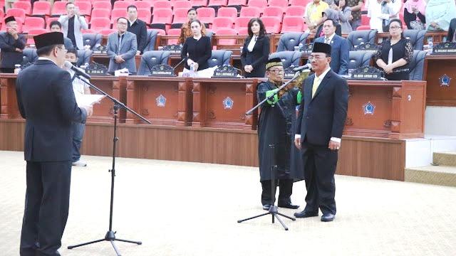 Paripurna PAW DPRD Sulut, Hanafi Sako Gantikan MMS