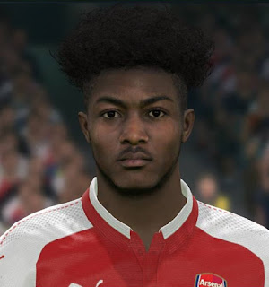 PES 2017 Faces Ainsley Maitland-Niles by Sameh Momen