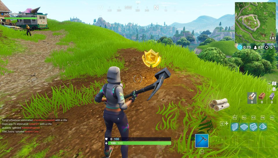 Fortnite Challenge Guide: Battle Royale's Flush Factory Treasure Map   Where To Find The Treasure