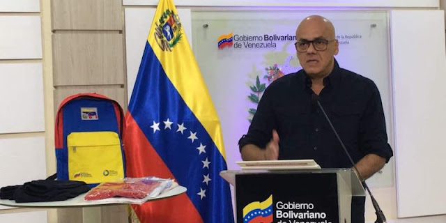 """Jorge Rodríguez dice que no habrán """"sueldos diferenciales"""" en la administración pública"""