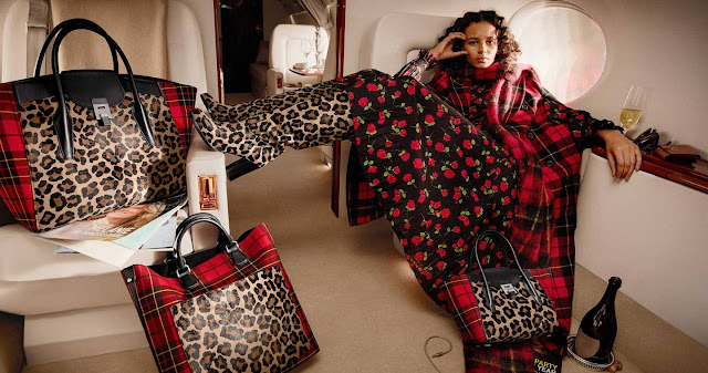 Binx Walton for Michael Kors Fall 2018 by Inez & Vinoodh
