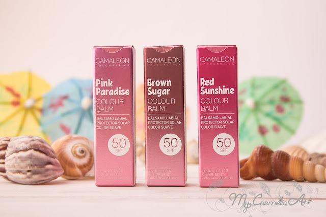 Los viernes al sol pero con protección: Bálsamos de labios con color de Camaleon Cosmetics