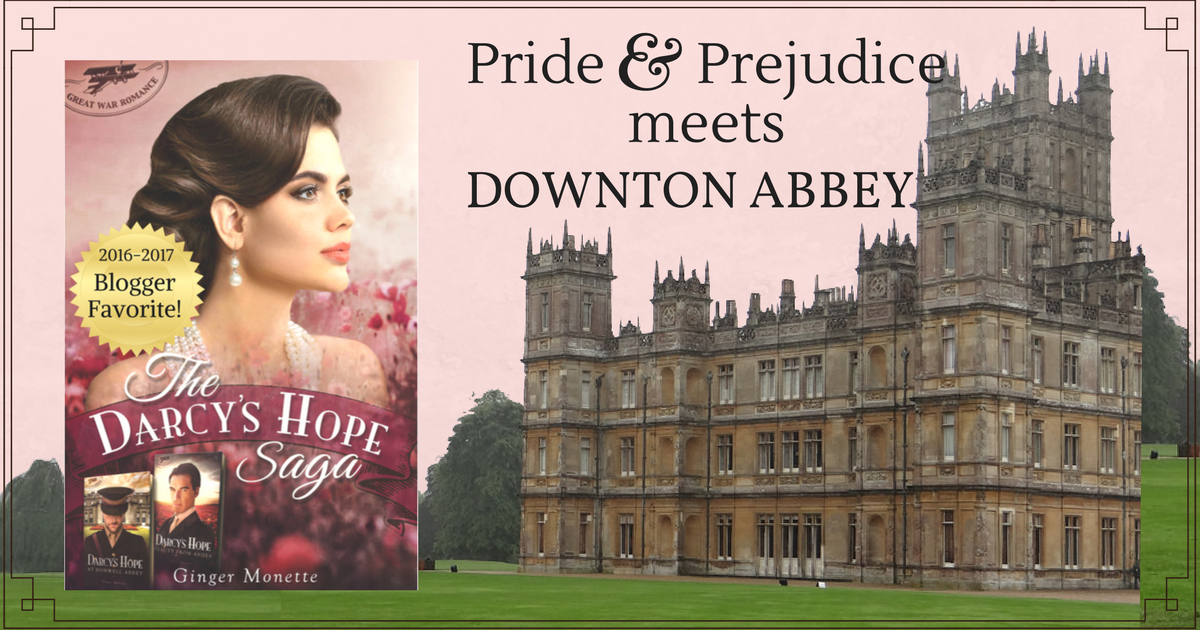 Darcy's Hope Saga by Ginger Monette