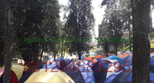 Tempat Camp Ground kawasan Sentul Bogor