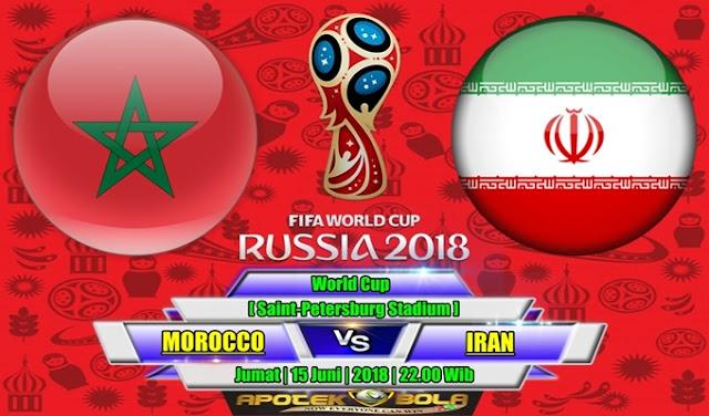 Prediksi Morocco vs Iran 15 Juni 2018