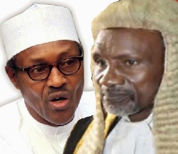 Judges Arrest: Rumpus In Aso Rock As CJN Tongue-lash Buhari To His Face