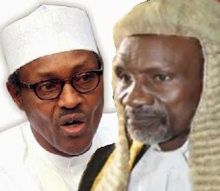 Judges Arrest: Rumpus In Aso Rock As CJN Tongue-lash Buhari To His Face