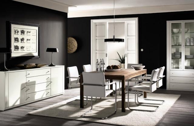 ruang makan sekaligus ruang keluarga - desainrumahidaman.xyz