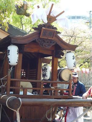 櫻宮神社献花祭地車