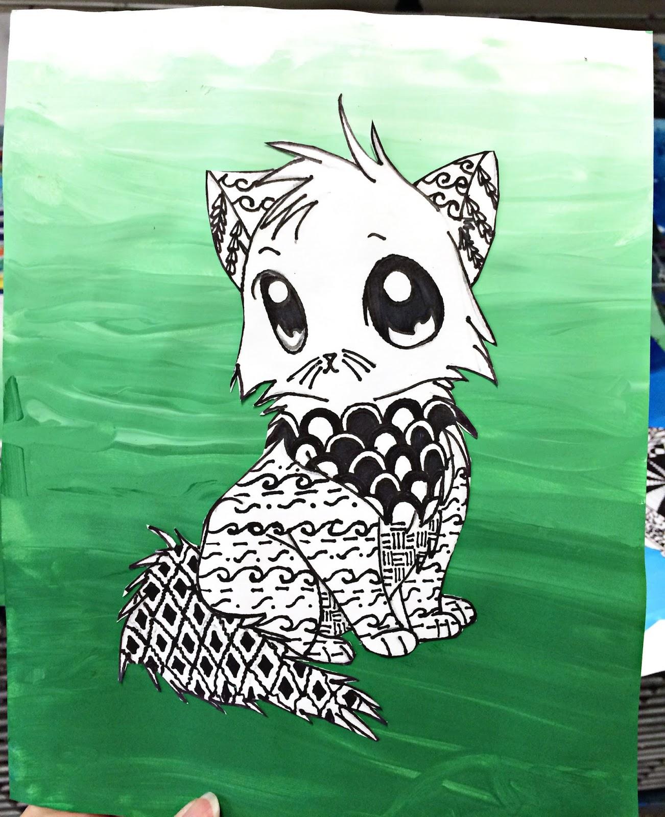 Smart Class Art To Remember Peacocks Zentangle Animals