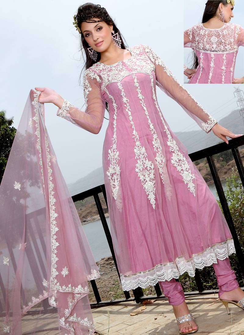 Fashion Arrivals Anarkali Colorful Long Frocks With