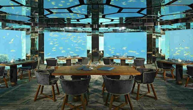 Inilah Tujuh Restoran Bernuansa Bawah Laut Paling Menawan Di Seluruh Dunia