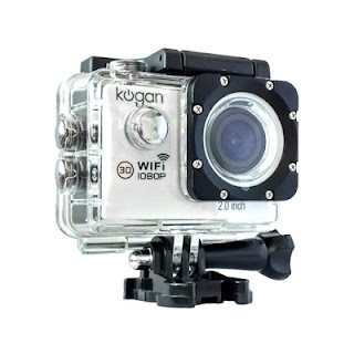 Water Case pada Kogan Sports Action Camera