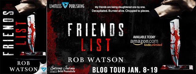 FRIENDS LIST by Rob Watson    ~~ NEW RELEASE ~~