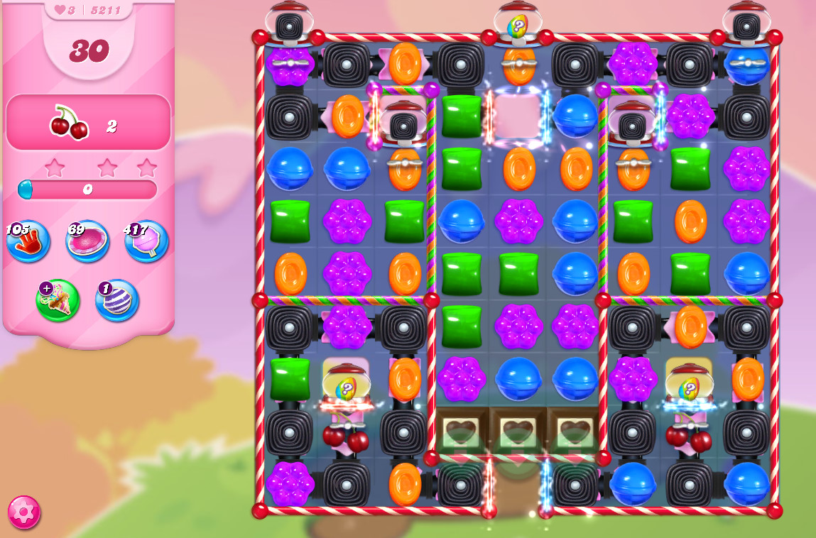 Candy Crush Saga level 5211