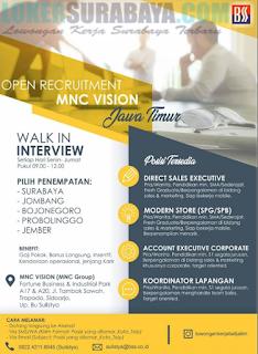 Open Recruitment MNC Vision Jawa Timur Terbaru Mei 2019