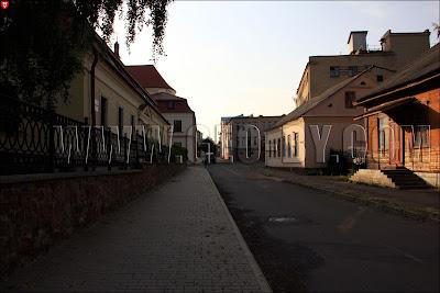 Историческая застройка Пинска