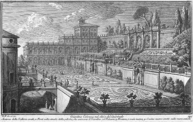 I viaggi di raffaella roma i giardini di palazzo colonna - I giardini del quirinale ...