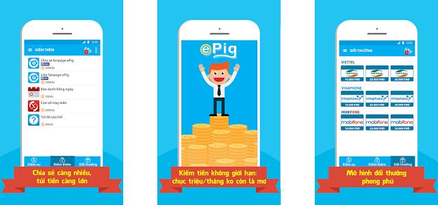 [Kiếm tiền trên Di động] Kiềm tiền cực hot trên ứng dụng epig.mobi