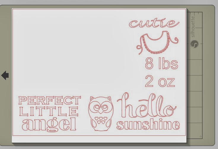 Wood frame, personalized, chunky, Silhouette tutorial, Silhouette Studio