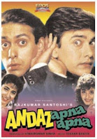 Andaz Apna Apna 1994 720p Hindi DVDRip Full Movie Download