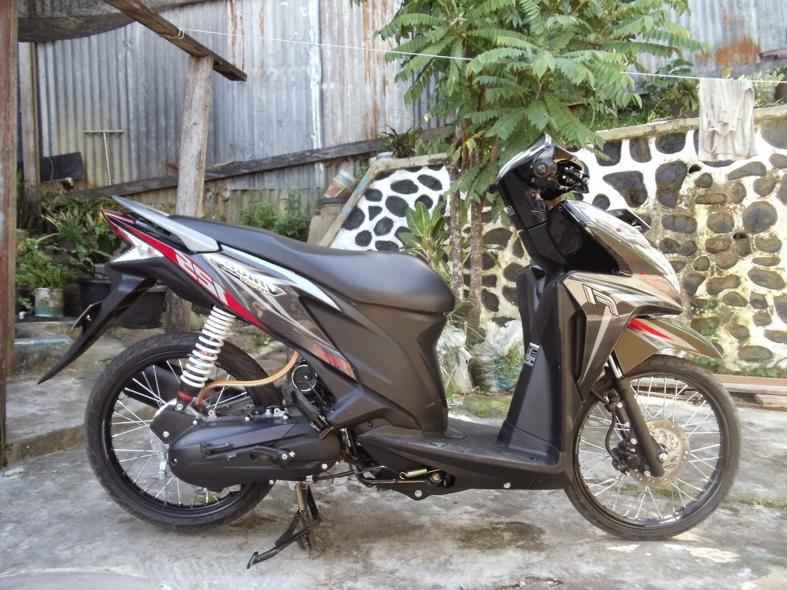 Gambar Modifikasi Motor Vario 125 Terkeren Earth Modification