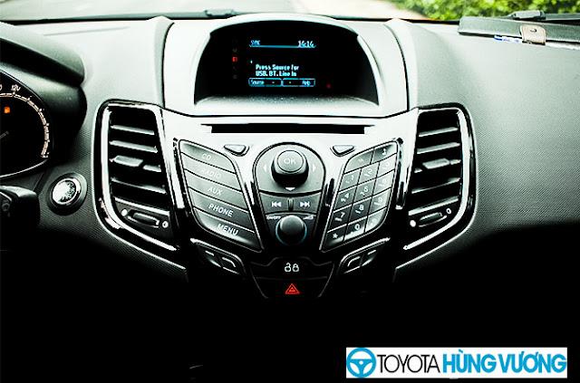 So sánh Toyota Vios với Ford Fiesta 18
