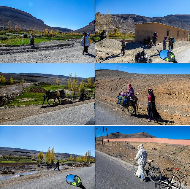 collage vida en el Alto Atlas