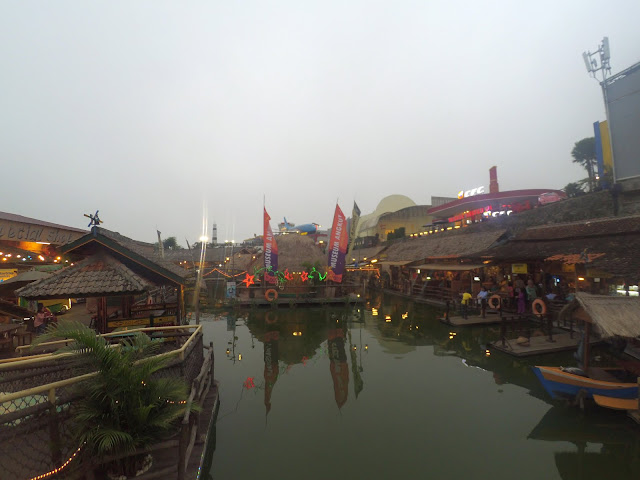 Floating Market Museum Angkut