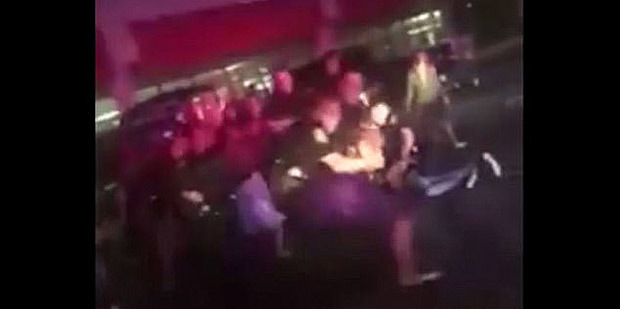 Outrage as Texas police officer caught repeatedly punching a girl in the face before arresting her