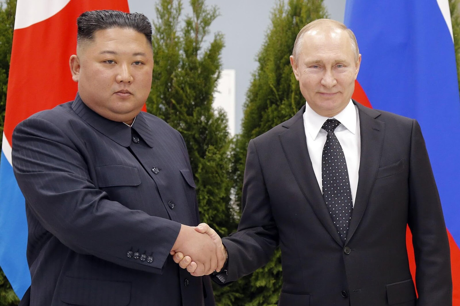 Putin hosts Kim for talks on North Korean nuclear standoff