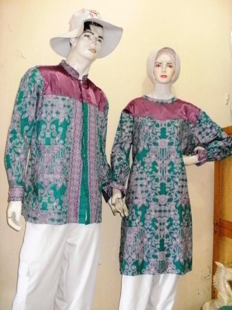 Model Tunik Batik Untuk Umroh