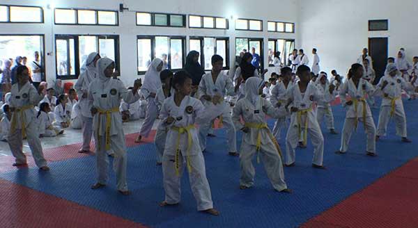 bk porda taekwondo, volly, dan basket di kota cirebon