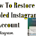 How to Get Old Instagram Account Back