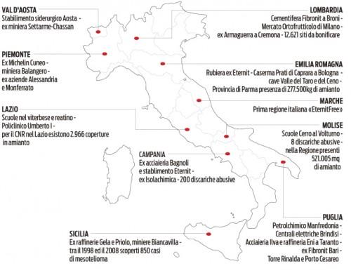 Cartina Lazio Michelin.Agl Alleanza Generale Del Lavoro Amianto Questione Irrisolta E